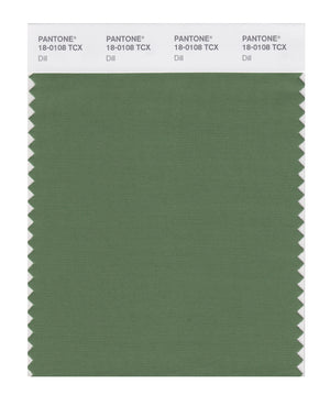 Pantone SMART Color Swatch 18-0108 TCX Dill