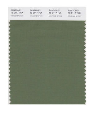 Pantone SMART Color Swatch 18-0117 TCX Vineyard Green