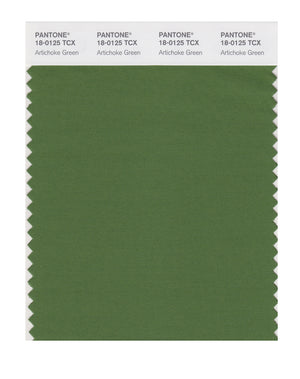 Pantone SMART Color Swatch 18-0125 TCX Artichoke Green