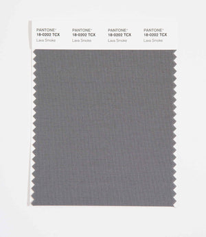 Pantone SMART Color Swatch 18-0202 TCX Lava Smoke
