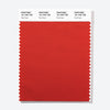 Pantone Polyester Swatch Card 18-1446 TSX Fire Finch