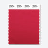 Pantone Polyester Swatch Card 18-1850 TSX Red Lacquer