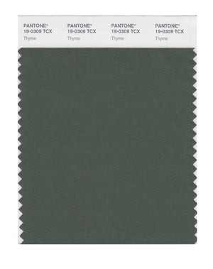 Pantone SMART Color Swatch 19-0309 TCX Thyme