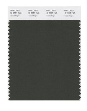 Pantone SMART Color Swatch 19-0414 TCX Forest Night