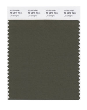 Pantone SMART Color Swatch 19-0515 TCX Olive Night