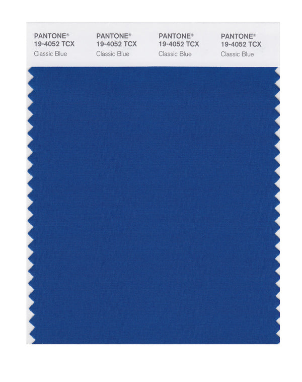 2020 Pantone Color of the Year - Classic Blue 19-4052
