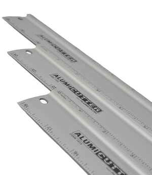 Lightweight Aluminum Cutting Guide With Measurements (Multiple Sizes)