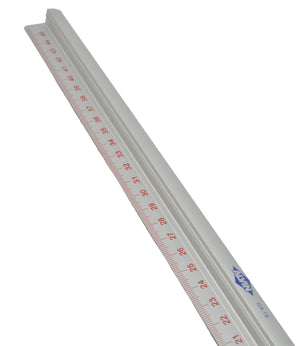Solid Straightedge Ruler With Measurements (Multiple Sizes)