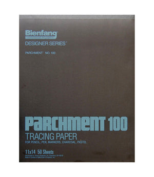 Bienfang Parchment 100 Designer Series Tracing Pad (Multiple Sizes)