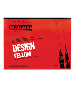Clearprint Vellum Pad, 50 Sheets/Pad (Various Sizes)