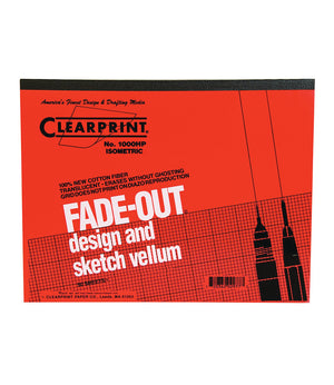 Clearprint 10x10 Grid Fade Out Design & Sketch Vellum Pad (Various Sizes)