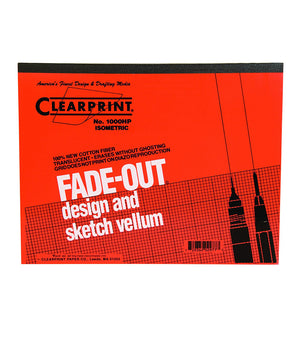 Clearprint 4x4 Grid Fade Out Design & Sketch Vellum Pad (Various Sizes)