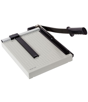 "Dahle Basic Guillotine Style Cutter (12"", 15"", or 18"") Max Cut 15 Sheet (20LB Paper)"