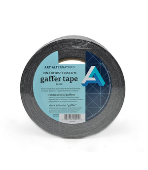 Art Alternative Black Gaffers Tape 2 inch x 30 yards