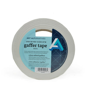 Art Alternative White Gaffers Tape 2 inch x 30 yards