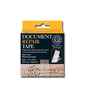 "Lineco Document Repair Tape, 1"" x 400"""