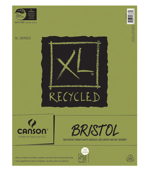 Canson XL Recycled Bristol Pad, 25 Sheet/Pad (Various Sizes)