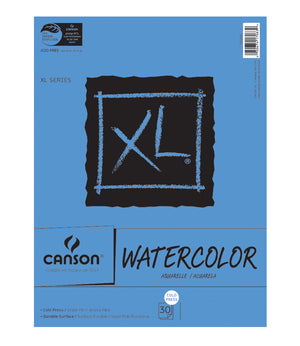 Canson XL 30 Sheet Watercolor Pad (Various Sizes)