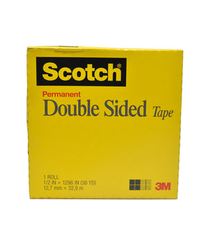 "3M Double-Sided Permanent Tape with 3"" Core Center Opening (Multiple Sizes)"