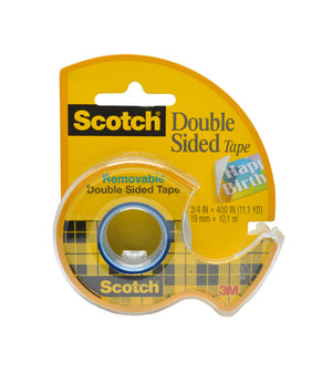 "3M Removable & Repositionable Double-Sided Tape with Dispenser 3/4"" x 400"" (667)"