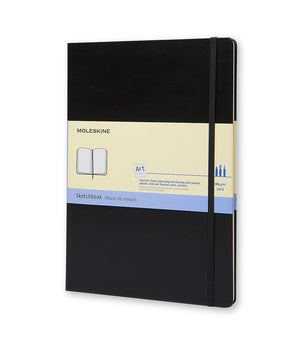 Hardcover Sketchbook From Moleskine (A3 and A4 Sizes)