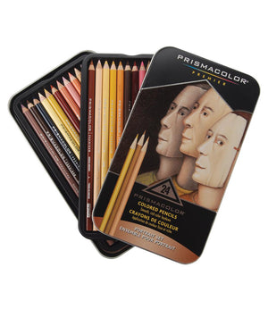 24 Premier Portrait Color Pencil Set From Prismacolor
