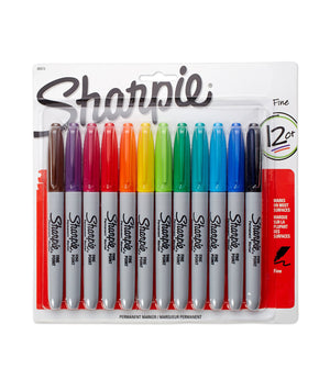 Sanford Permanent Sharpie Markers (Various Sizes & Styles)
