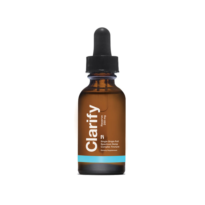 Clarify Reserve 250 mg Tincture CBD