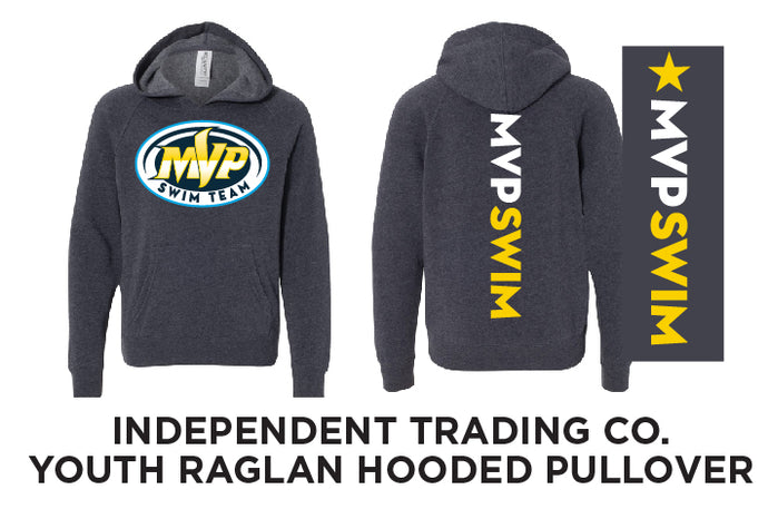 MVP Swim Youth Raglan Pullover Hoodie - NEW