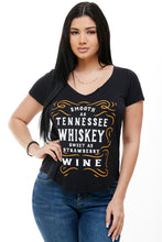 SMOOTH AS TENNESSEE WHISKEY SHORT SLEEVE V NECK + free item - Trailsclothing.com