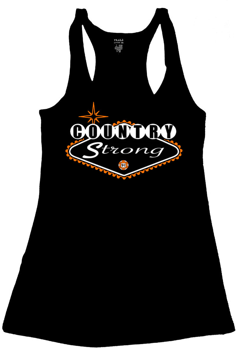 COUNTRY STRONG LAS VEGAS ROUTE 91 TANK TOP - Trailsclothing.com