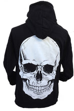 BIG SKULL ZIP UP HOODIE - Trailsclothing.com
