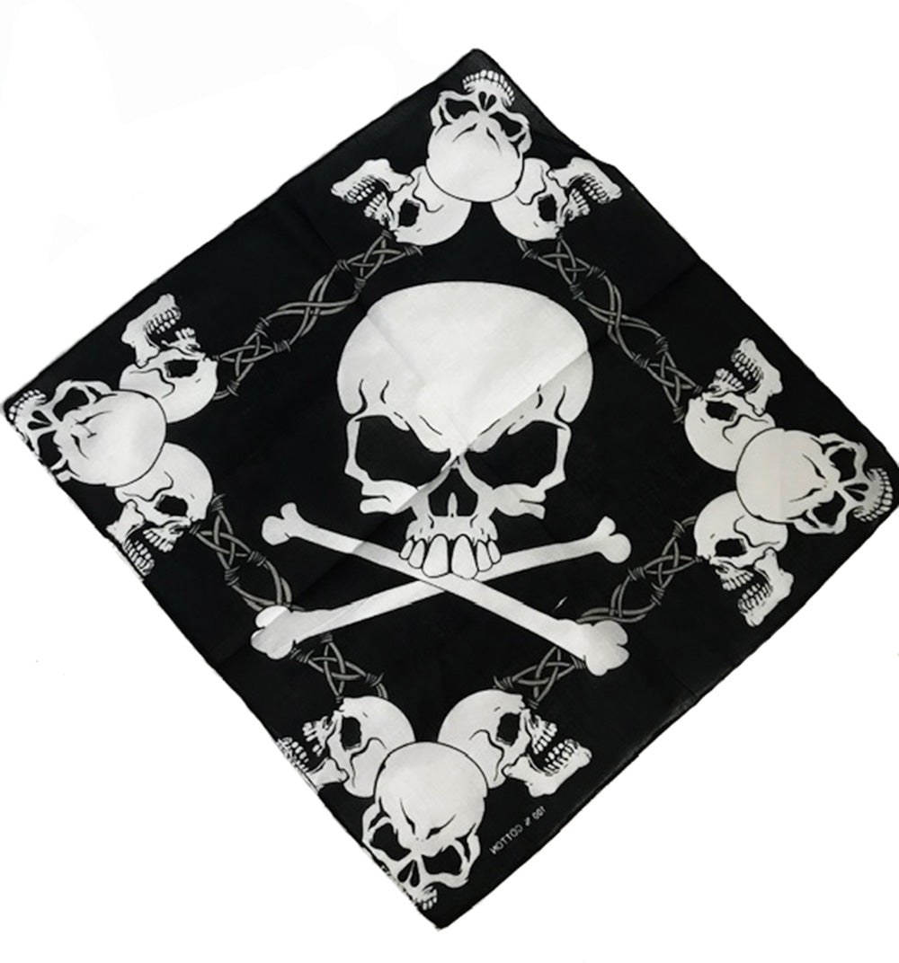 LARGE SKULL BANDANA - Trailsclothing.com