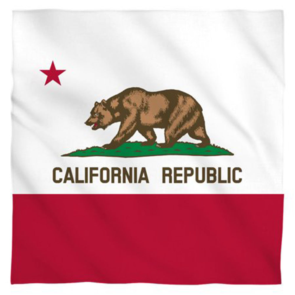CALIFORNIA FLAG BANDANA - Trailsclothing.com