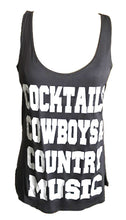 COCKTAILS COWBOYS AND COUNTRY MUSIC - Trailsclothing.com