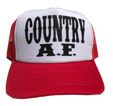 COUNTRY AF HAT - Trailsclothing.com