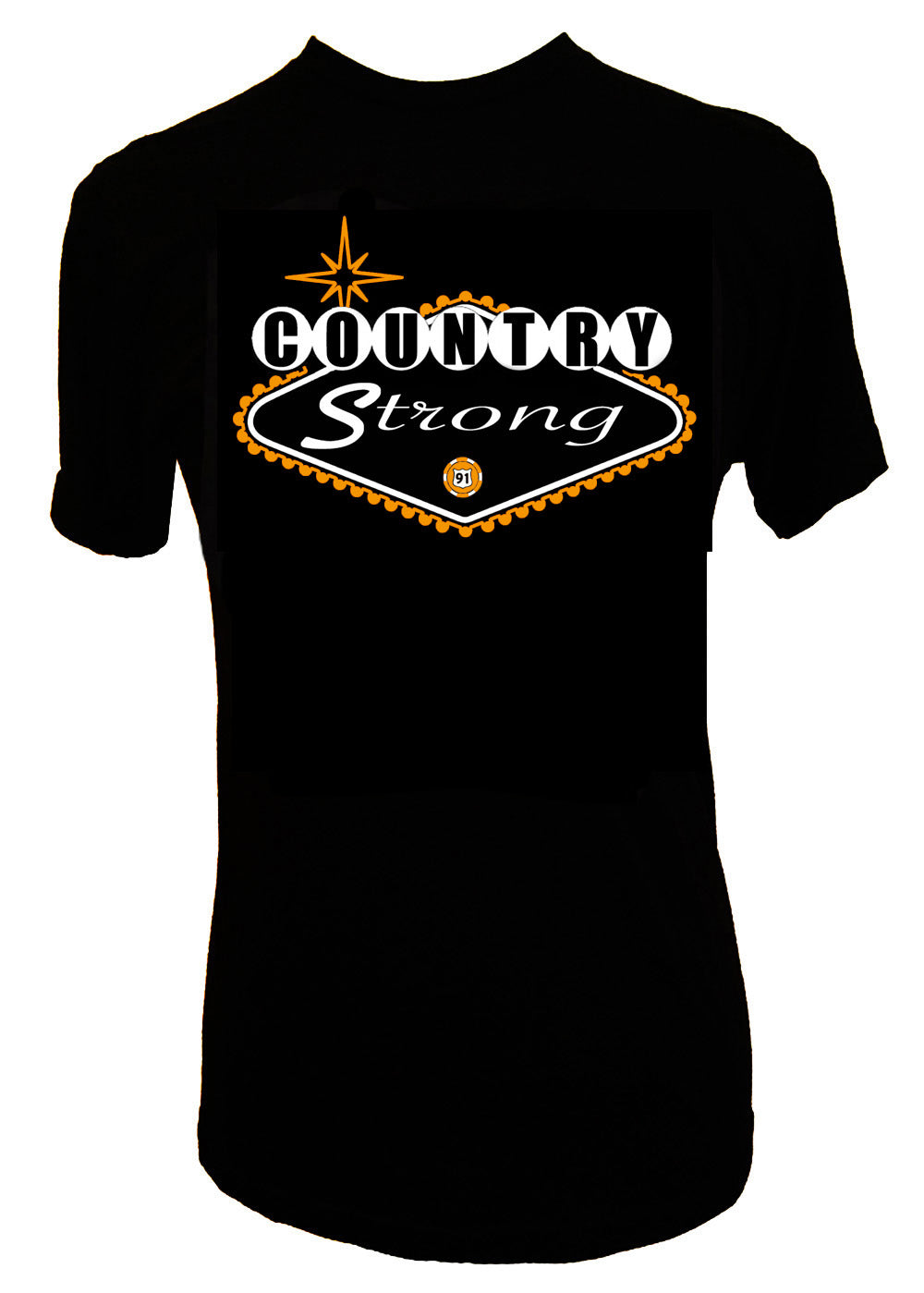 COUNTRY STRONG LAS VEGAS ROUTE 91 T SHIRT - Trailsclothing.com