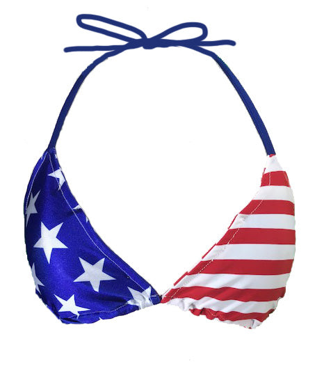 FLAG BIKINI TOP - Trailsclothing.com
