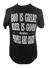 GOD IS GREAT BEER IS GOOD AND PEOPLE ARE CRAZY MEN'S T SHIRT + free gift - Trailsclothing.com