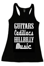 GUITARS CADILLACS HILLBILLY MUSIC TANK TOP