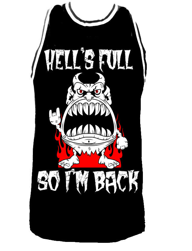 HELLS FULL SO I'M BACK JERSEY - Trailsclothing.com
