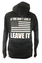 if you don't love it leave it grey cam hoodie back