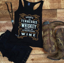 SMOOTH AS TENNESSEE WHISKEY TANK TOP + free item - Trailsclothing.com