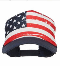 STARS AND STRIPES TRUCKER HAT - Trailsclothing.com