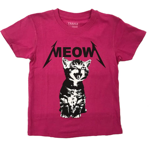 MEOW LICKA YOUTH TEE SHIRT - Trailsclothing.com