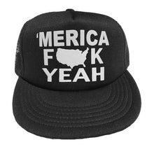 MERICA YEAH TRUCKER HAT - Trailsclothing.com