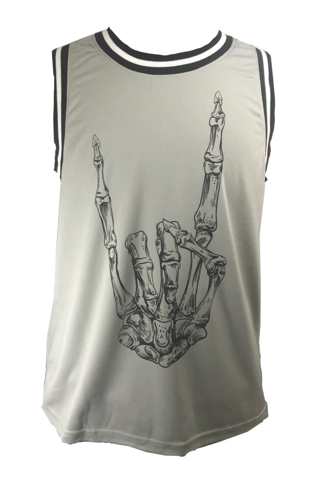 METAL FINGER BASKETBALL JERSEY - Trailsclothing.com