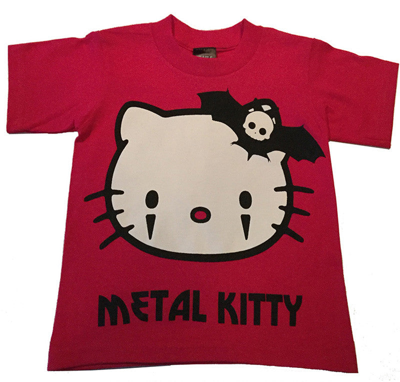 METAL KITTY YOUTH TEE - Trailsclothing.com