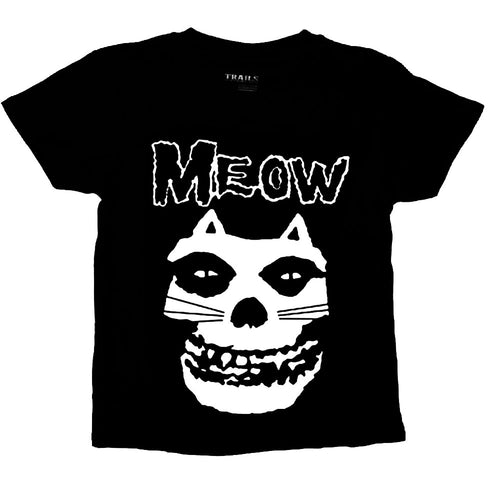 MISFIT CAT MEOW YOUTH T SHIRT