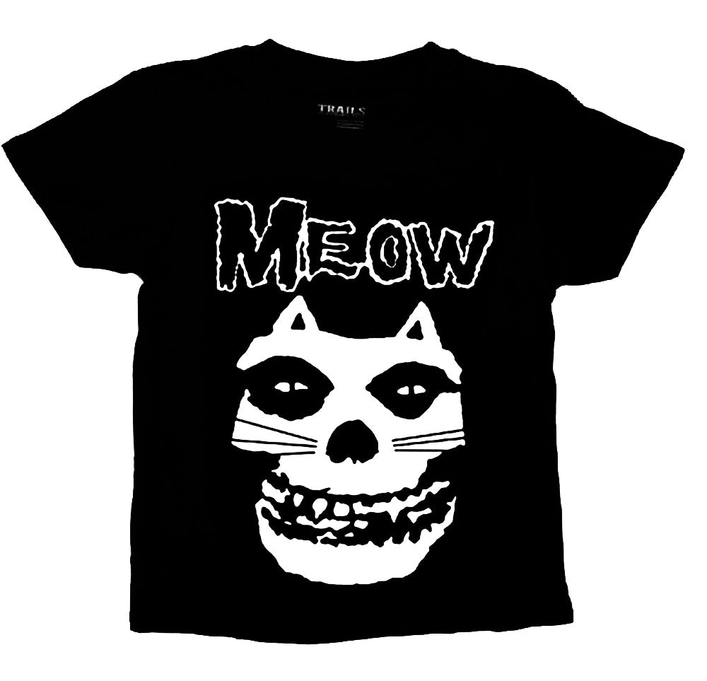MISFIT CAT MEOW YOUTH T SHIRT - Trailsclothing.com